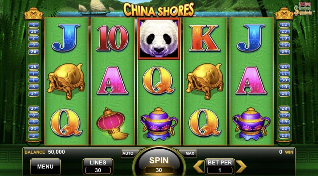 China Shores-เกม