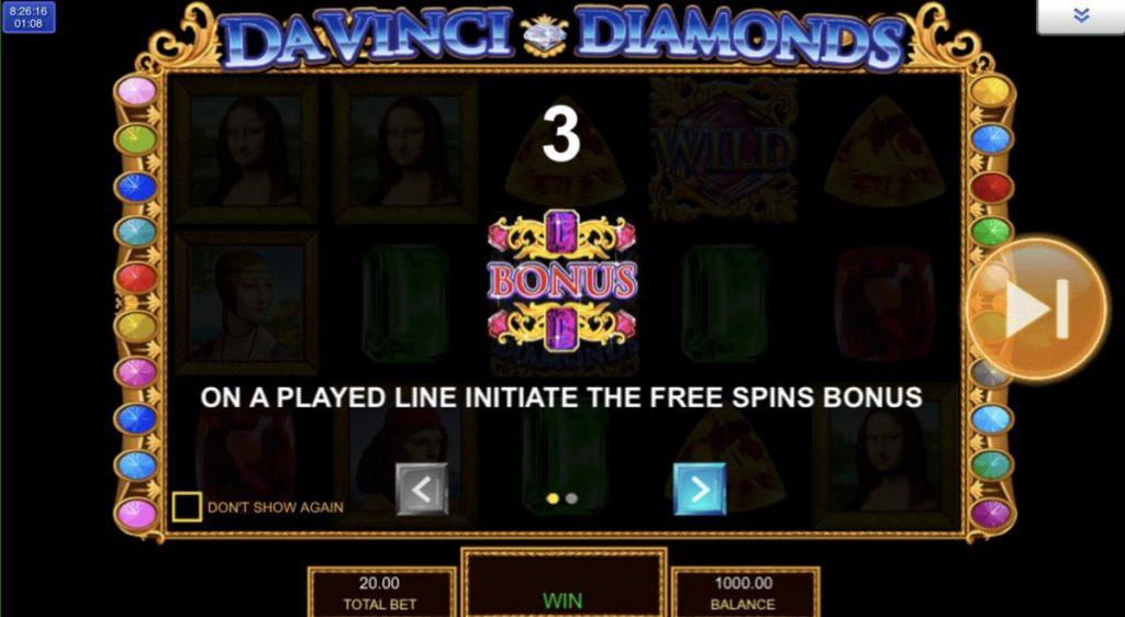 Da Vinci Diamonds-เกม